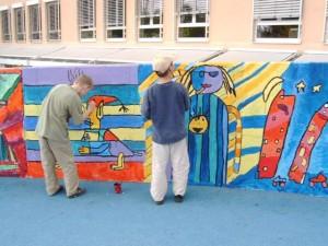 Schulmauer Hunderdorf