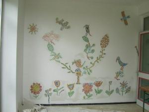 Wandmosaik Ergoldsbach